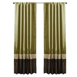 Panshawe Rod Pocket Curtain Panels (Set Of 2)