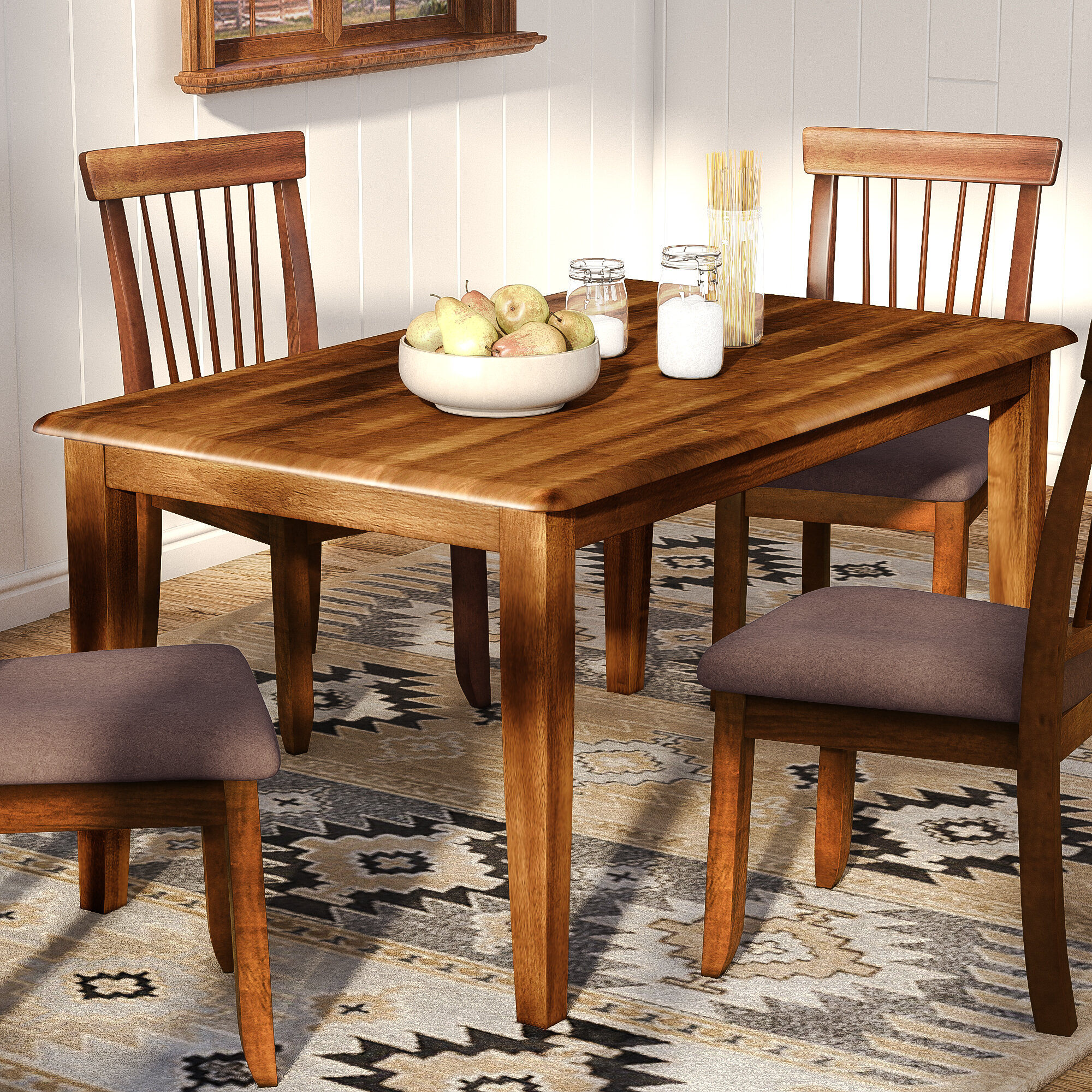Loon Peak Kaiser Point Dining Table & Reviews | Wayfair