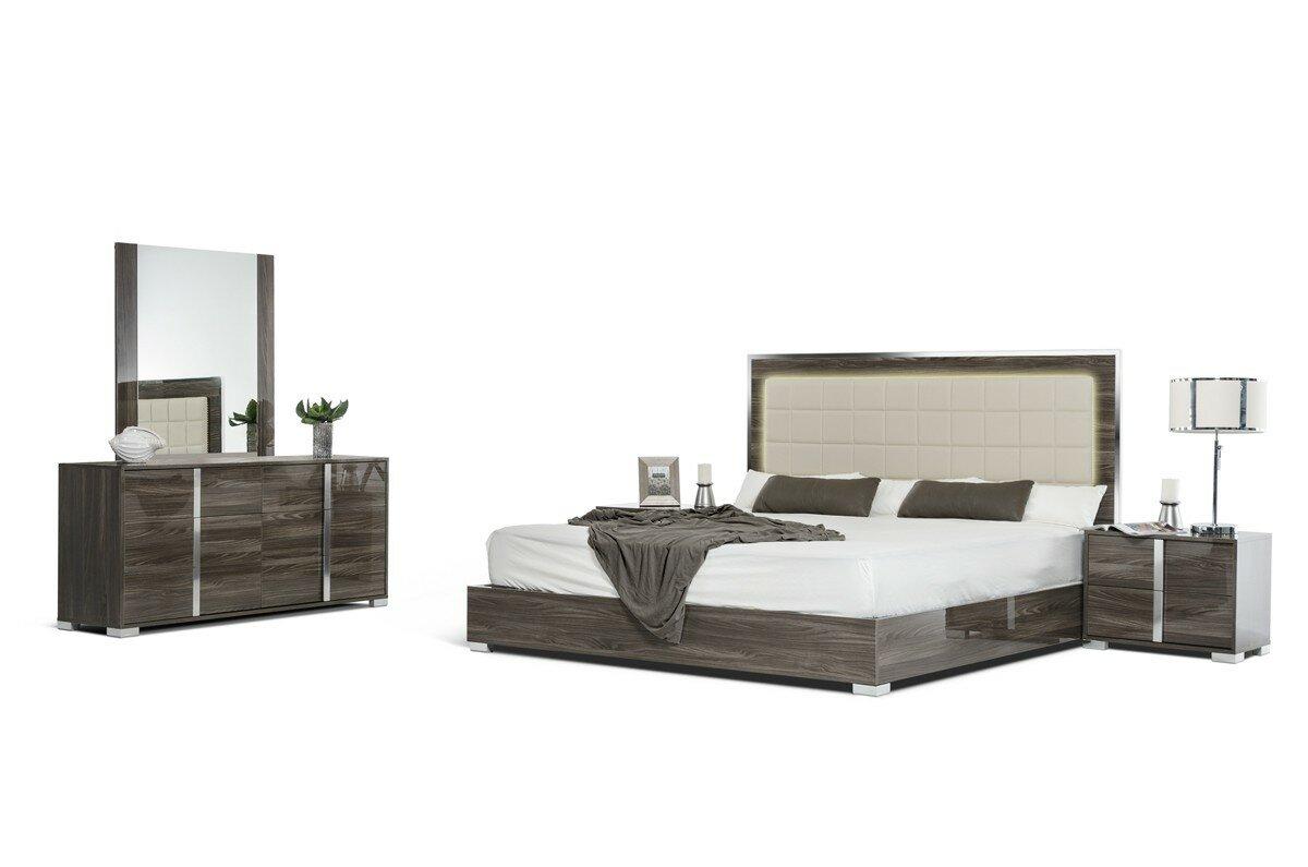 Demaria Platform 5 Piece Bedroom Set