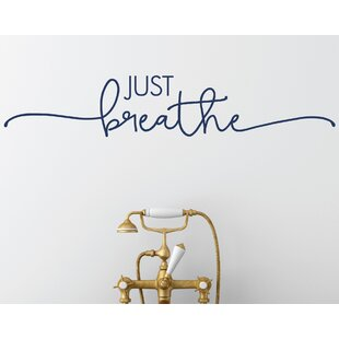 Just Breathe Wall Quotes™ Decal