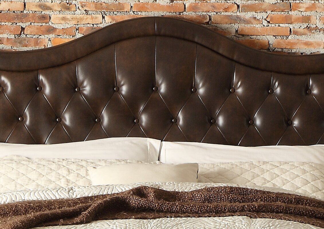 Darby Home Co Turin Tufted Upholstered Panel Headboard & Reviews ...