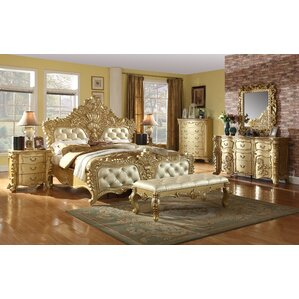 Finch Panel Customizable Bedroom Set