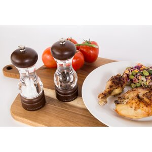 Forest 4 Piece Salt and Pepper Mill Set