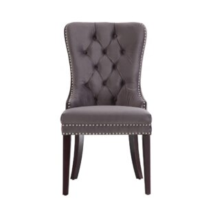 Phipps Upholstered Dining Chair (Set Of 2) Wonderful