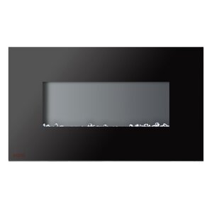 Royal Wall Mounted Electric Fireplace with Crystals by Ignis Products