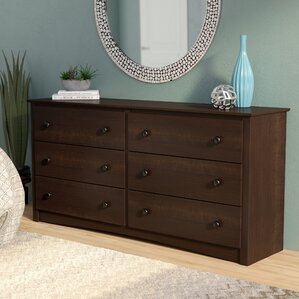 Penelope 6 Drawer Double D..