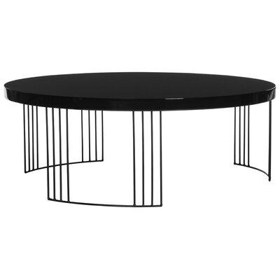 Modern Black Round Coffee Tables Allmodern