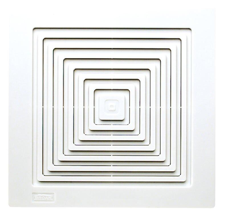Bathroom Exhaust Fan broan ceiling/wall mount 50 cfm bathroom exhaust fan & reviews