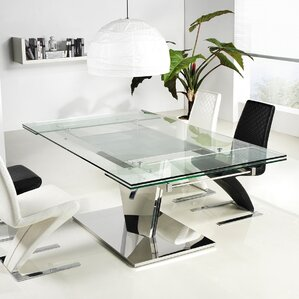 Diamond Extendable Dining Table by Casabianca Furniture