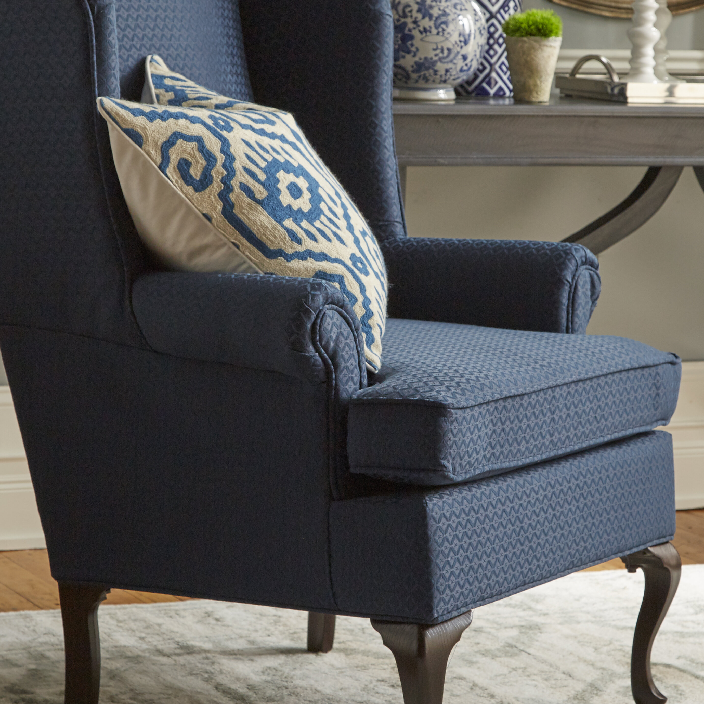 Three Posts Palmdale Wingback Chair U0026 Reviews | Wayfair