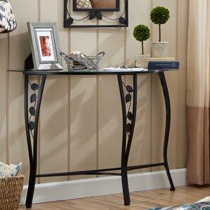 Great Fletcher Console Table U0026 Mirror Set