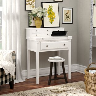 Small White Secretary Desks Youll Love Wayfair