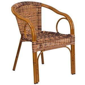 Roeville Rattan Restaurant Patio Chair