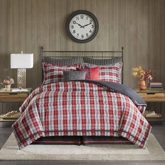 e828728843508 Tommy Hilfiger Surf Plaid Comforter Set   Reviews