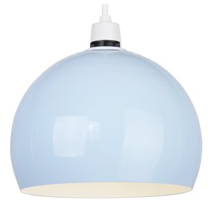Ceiling lamp shades wayfair 20cm metal bowl pendant shade aloadofball Image collections