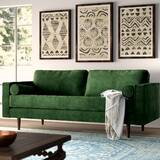 Green Velvet Sofas You\'ll Love in 2019 | Wayfair
