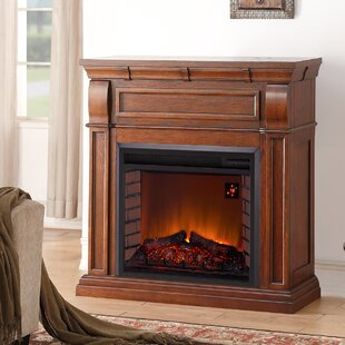 Chestnut Full Size Electric Fireplace
