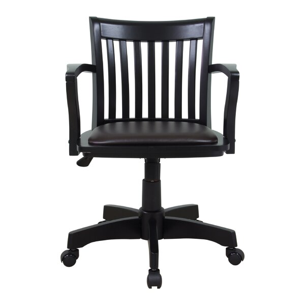 Exceptional Winston Porter Laberge Mid Back Deluxe Bankers Chair U0026 Reviews | Wayfair