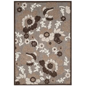 Bryan Light Brown/Brown Area Rug
