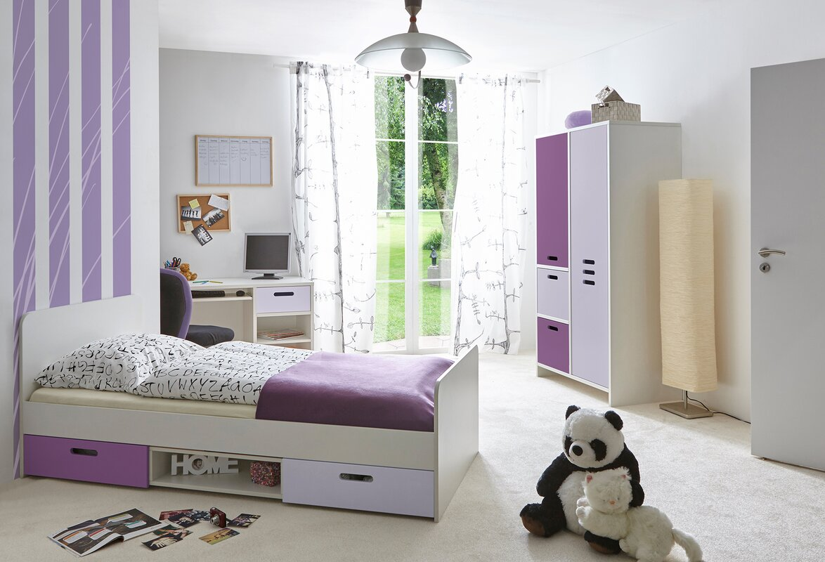 ticaa 3 tlg schlafzimmer set clou bewertungen. Black Bedroom Furniture Sets. Home Design Ideas