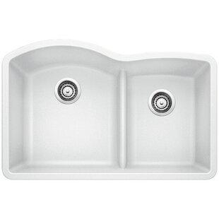 White kitchen sinks youll love wayfair white kitchen sinks workwithnaturefo