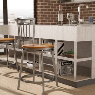 Pitts 25 Swivel Bar Stool By Wrought Studio