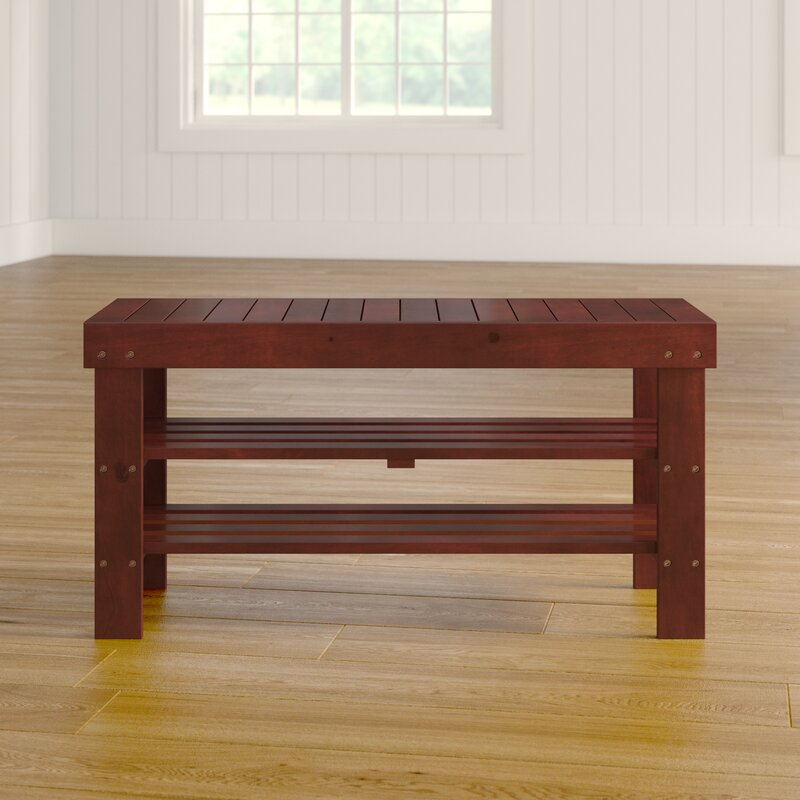 Babcock Wood Storage Bench