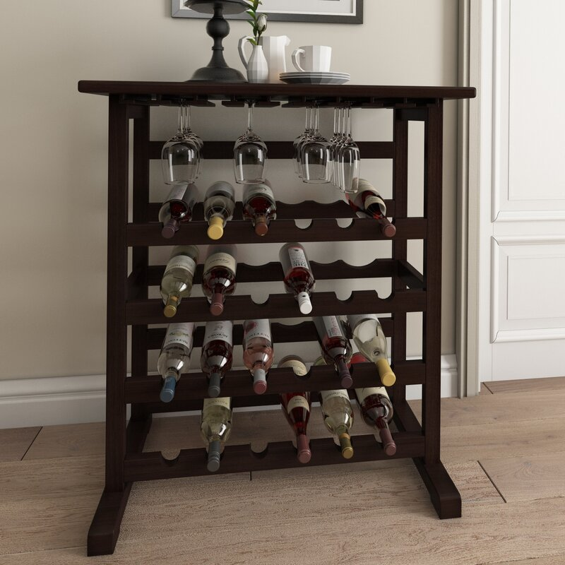 Eliza 24 Bottle Floor Wine Rack
