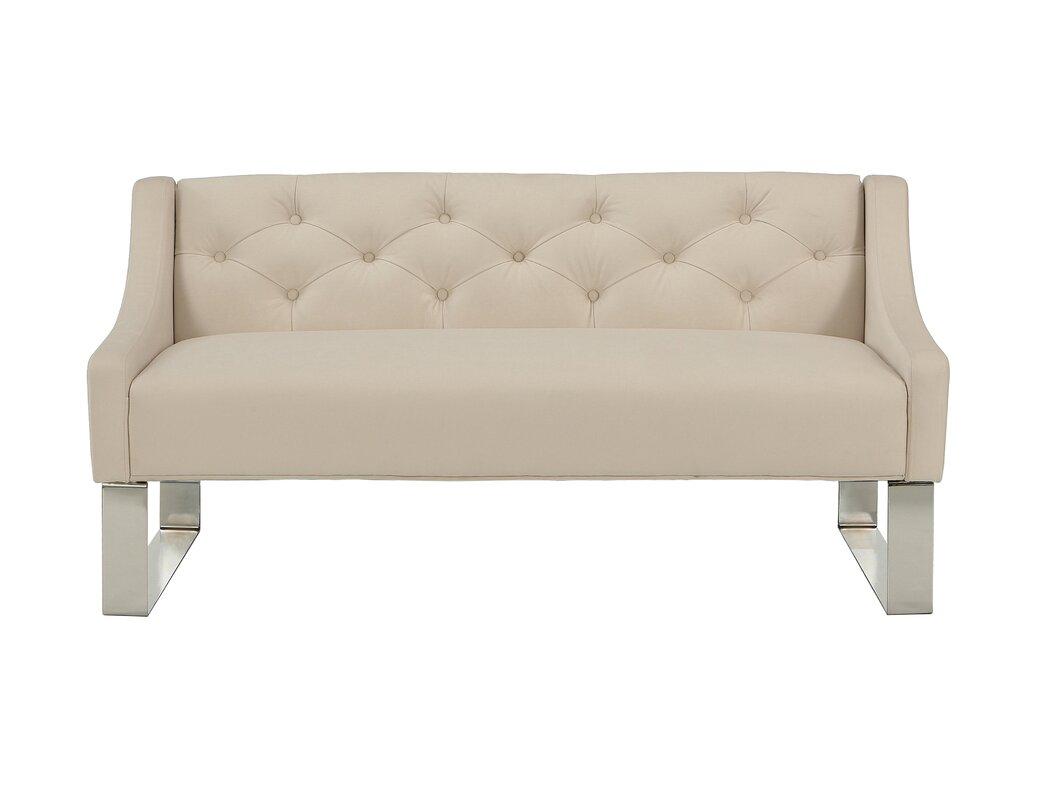 republicdesignhouse upholstered bedroom bench  reviews  wayfair - defaultname