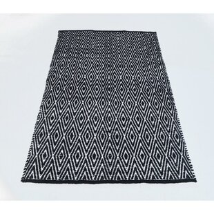 Black And White Diamond Rug Wayfair