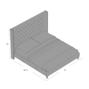 Club Mcallen Platform Bed by Sunpan Modern