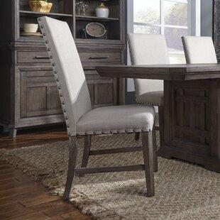 Vanwormer Upholstered Dining Chair (Set of 2)