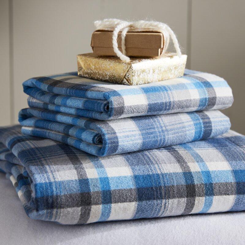 Eddie Bauer Spencer Cotton Flannel Sheet Set Amp Reviews