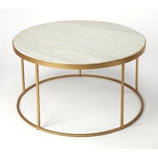 Rose Gold Marble Coffee Table Wayfair