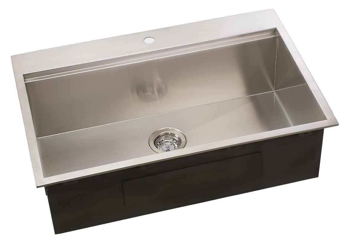 ledge series 31   x 10   undermount or topmount kitchen sink lenova ledge series 31   x 10   undermount or topmount kitchen sink      rh   wayfair com