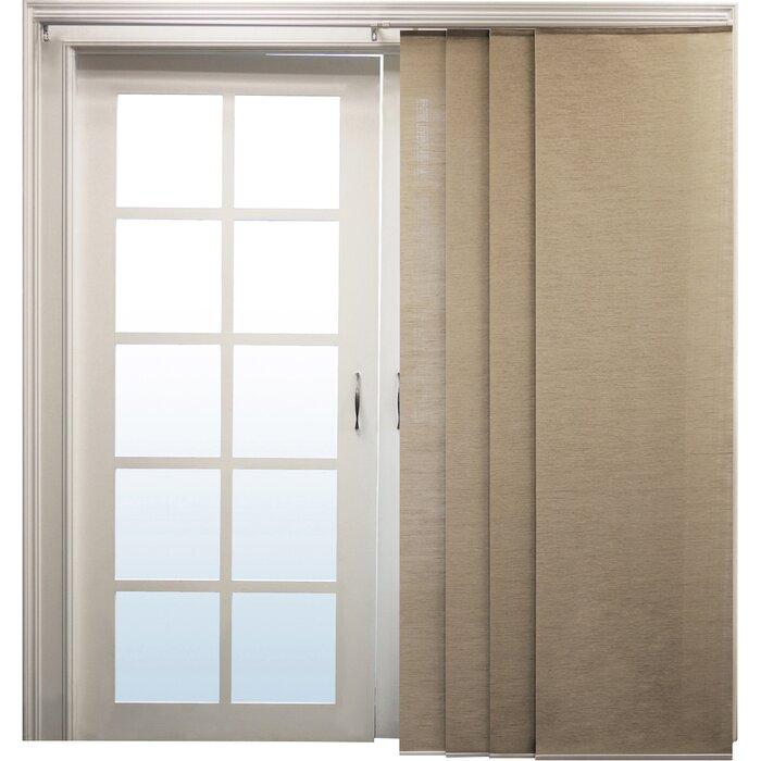 sliding panel vertical blind