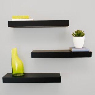 bedroom wall & display shelves you'll love   wayfair.ca Bedroom Display Shelves