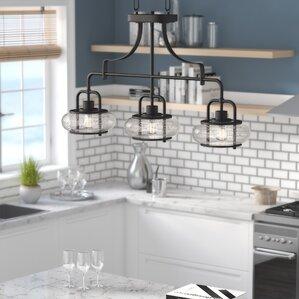 Braxton 3 Light Kitchen Island Pendant