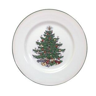 Original Christmas Tree Traditional 11  Dinner Plate  sc 1 st  Wayfair & Christmas Paper Plates | Wayfair