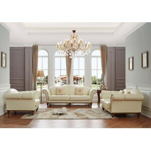 white leather living room set.  White Living Room Sets You ll Love Wayfair