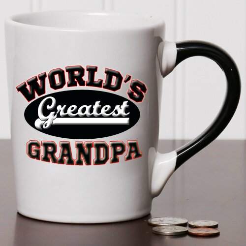 20 Oz World S Greatest Grandpa Stoneware Coffee Mug