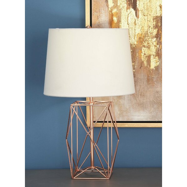 Cole grey metal wire 21 table lamp reviews wayfair keyboard keysfo Choice Image