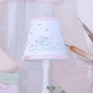 Embroidered Lamp Shades Embroidered lamp shade wayfair froggy 8 empire lamp shade audiocablefo