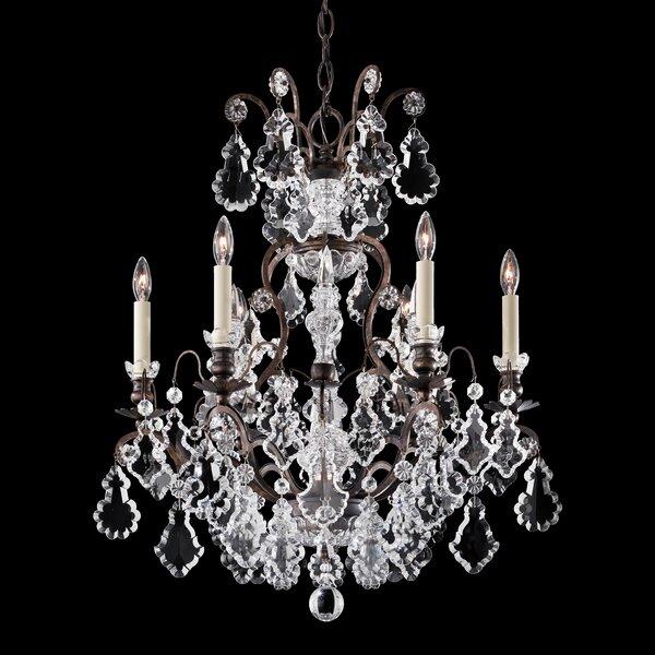 Schonbek Chandelier Wayfair: Schonbek Versailles 6-Light Crystal Chandelier