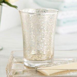 Mercury Glass Vanity Tumbler