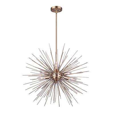 Whitfield Lighting Jennifer 10 Light Sputnik Chandelier