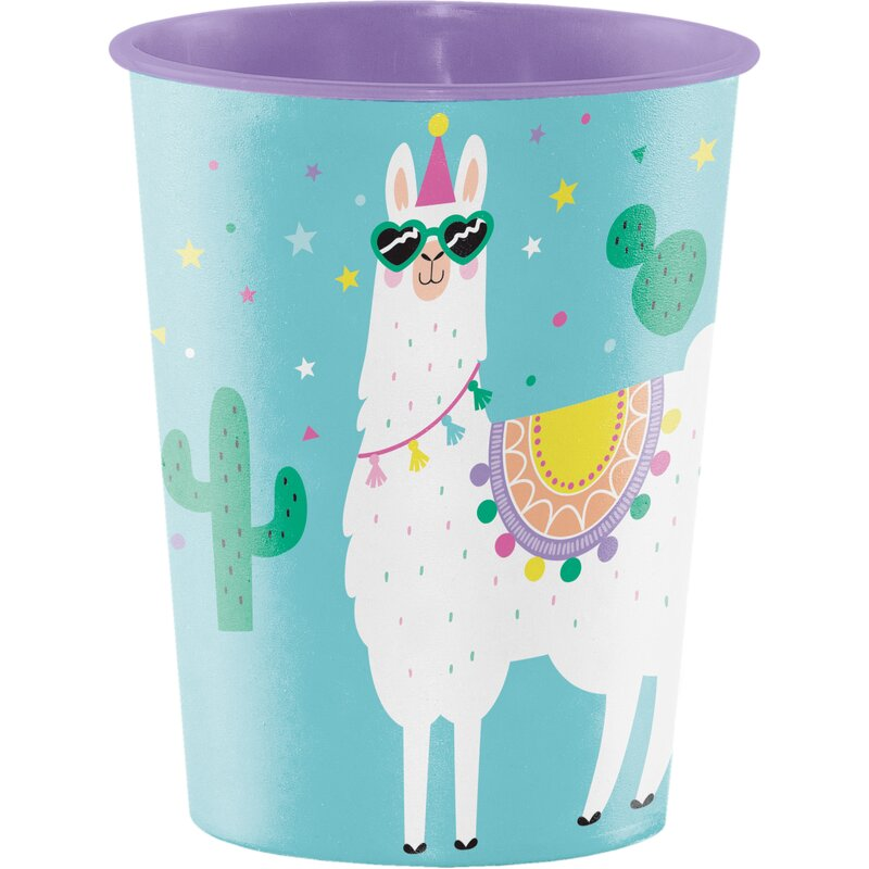 Creative Converting Llama Party Plastic Disposable Every Day Cup Wayfair