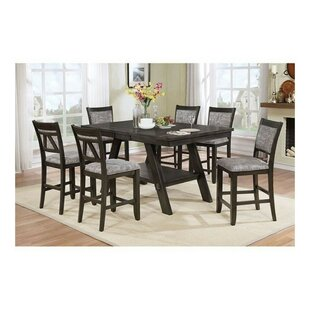 Molina Transtional 7 Piece Pub Dining Set