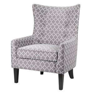 Goldsboro Shelter Wing Armchair by Red Barrel Studio