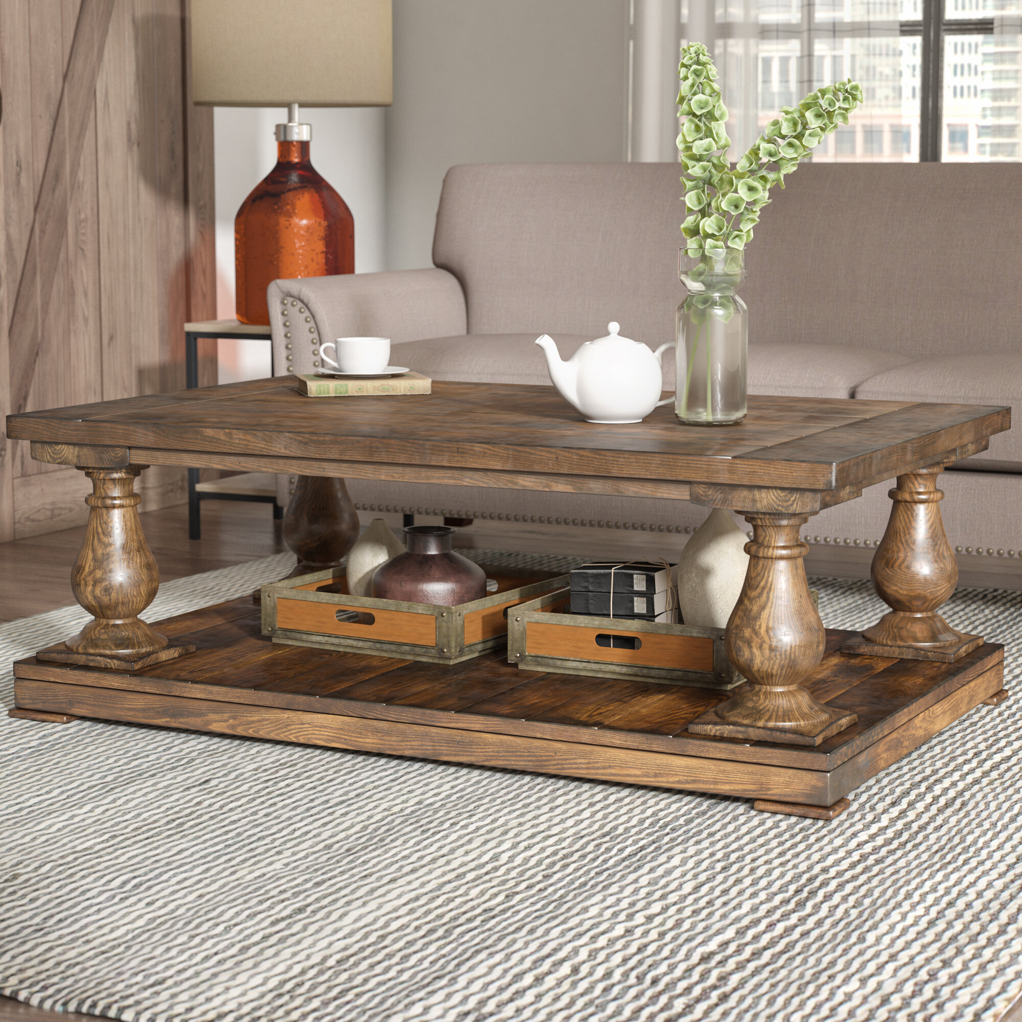Laurel Foundry Modern Farmhouse Gladiola Coffee Table U0026 Reviews | Wayfair